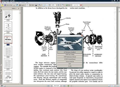 Product picture Cessna 310 service maintenance manual  1967 - 1968