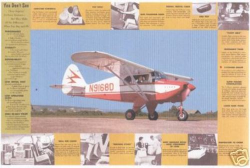 Product picture Piper Tri Pacer PA22 maintenance manuals